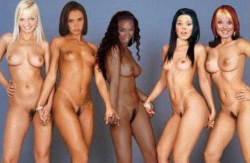 spice girls nude