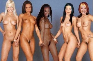 spice girls nude