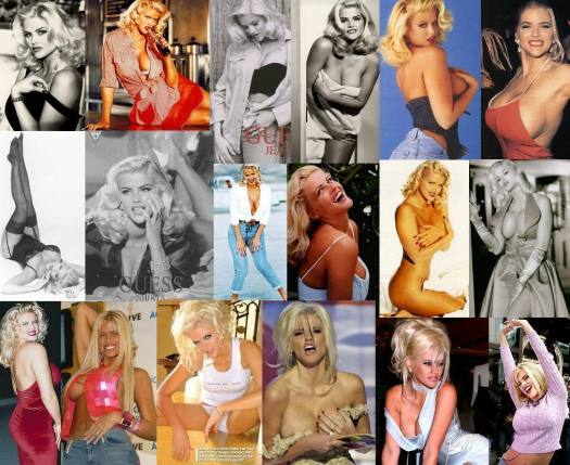 anna nicole smith collage