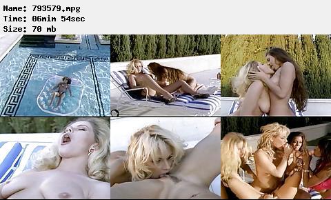 Debi Diamond Felecia poolside lesbian orgy