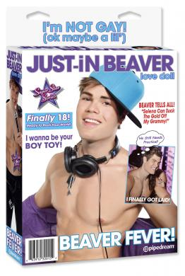 Justin Bieber love doll