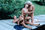 Marilyn Olinka retro porn 3some