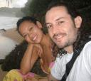 Anya Ayoung-Chee and boyfriend Wyatt Gallery