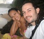 Anya Ayoung-Chee and boyfriend Wyatt Gallery