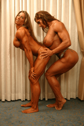 Angie Salvagno and Amber Deluca 09