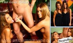 Love Twins handjob