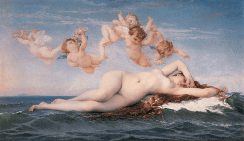 Goddess Aphrodite_Alexandre_Cabanel_-_The_Birth_of_Venus