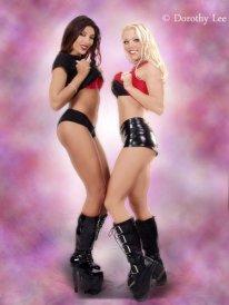 Jasmin St Claire Pro Wrestling Gorgeous George