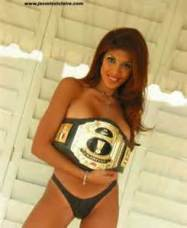 Jasmine St.Claire Commissioner XPW wrestling