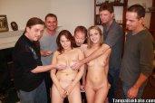 Tasha Knox and girlfriend college orgy 03