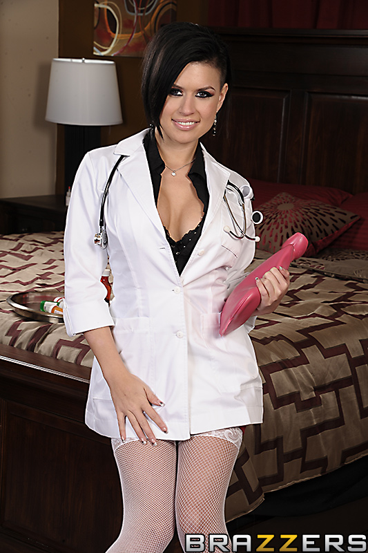 BRAZZERS - (DA) Doctor's Adventure (2012) Eva Angelina & Johnny Sins (Bedside Mammaries)