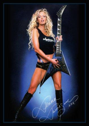 jenna_jameson_with_jackson_guitar__a3__350dpi__by_oleglevashov-d839nj6
