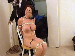 Goldie Blair HOM handgag rape
