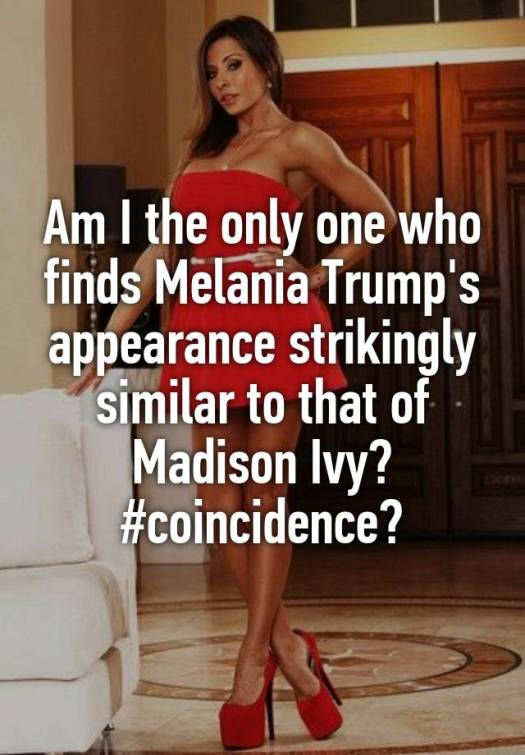Madison Ivy Melania Trump