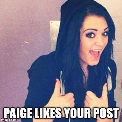 Paige likes your post