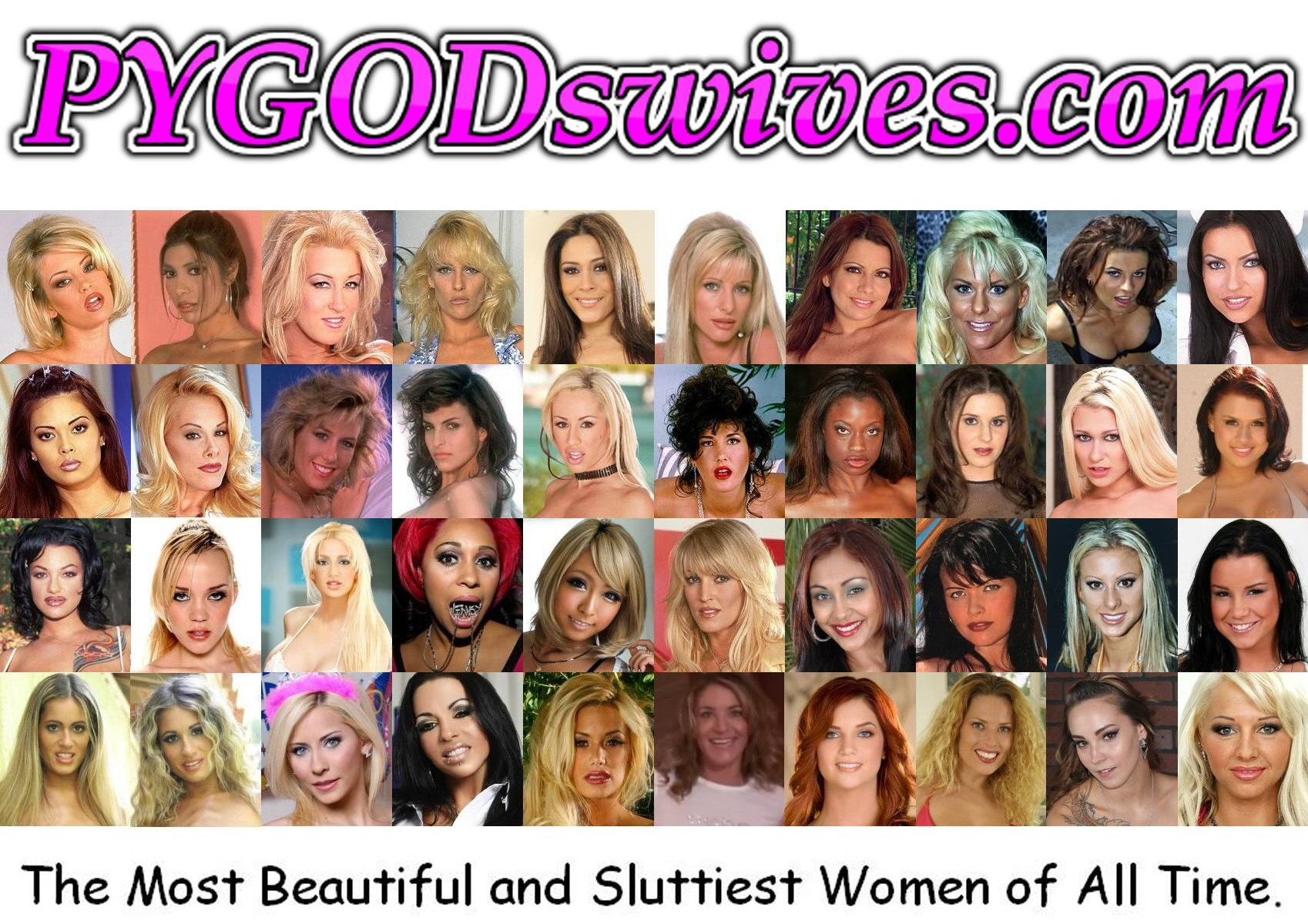 PYGODswives Top 40 PornStars