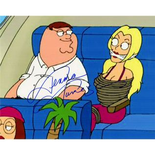 Jenna Jameson Signed Family Guy With Peter Griffin