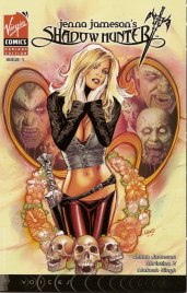 Jenna Jameson comics Shadow Hunter heroine
