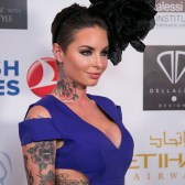 LOS ANGELES, CA - SEPTEMBER 13: Christy Mack attends the Face Forward Foundation's Charity Gala supporting victims of domestic abuse at Millennium Biltmore Hotel on September 13, 2014 in Los Angeles, California. (Photo by Vincent Sandoval/WireImage)