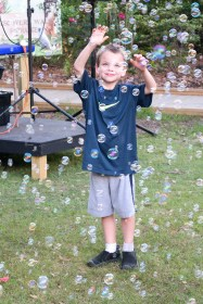 Lots of bubbles!