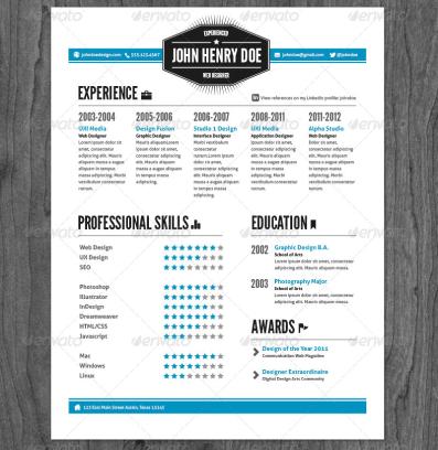 Vintage-Style-Resume-Pack