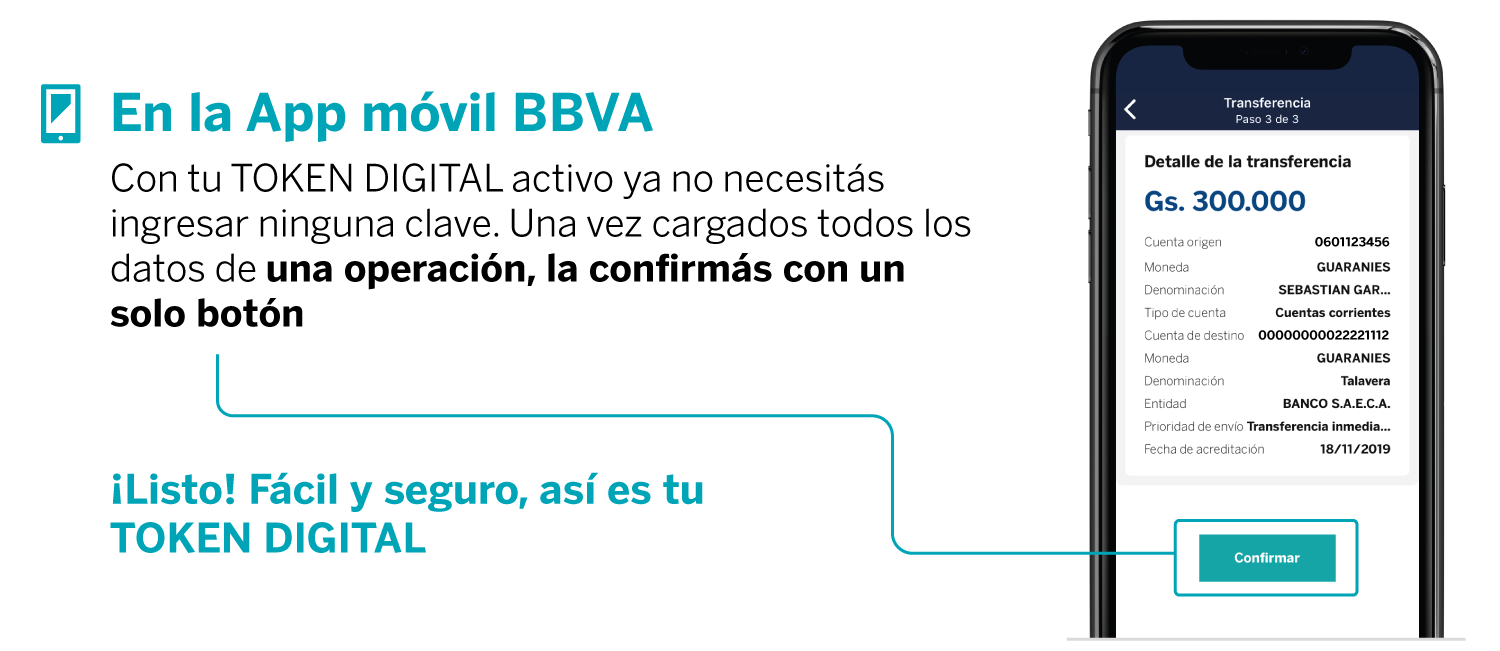 Token digital bbva