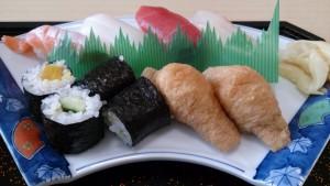 まとい寿司ランチアップ