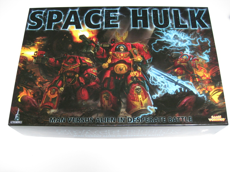 Space Hulk Pakkaus
