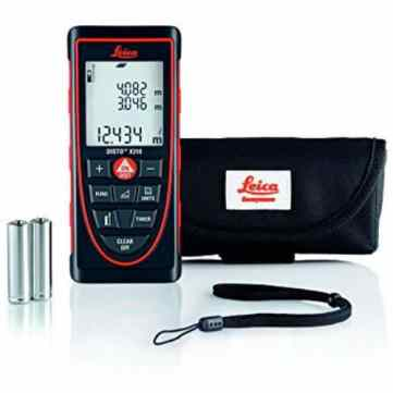 The Leica X310 is ideal for professionals tradesmen, who want to invest in a high specification, very robust, laser distance measurer, which can be used in very demanding environments, such as outdoors on building sites, up ladders or in large warehouses where range in very important.