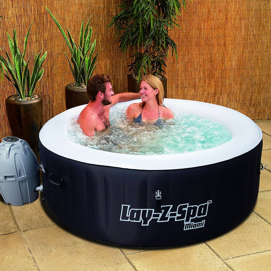 Best Budget Inflatable Hot Tub 0 Lay-Z-Spa Miami inflatable hot tub