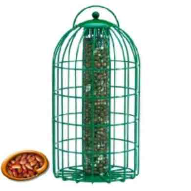 The Nuttery Squirrel and Predator Proof Original Nut Feeder Review