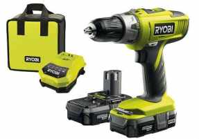 Our best pick - Ryobi ONE+ Cordless Combi Drill with 2 x 1.3A Batteries