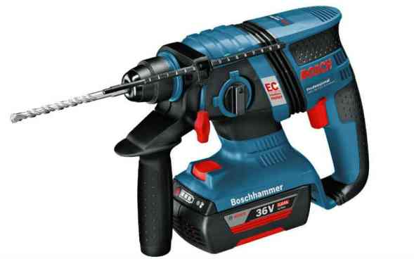 Bosch Professional GBH L-Boxx 36 V-EC Compact Cordless Rotary Hammer Drill Review