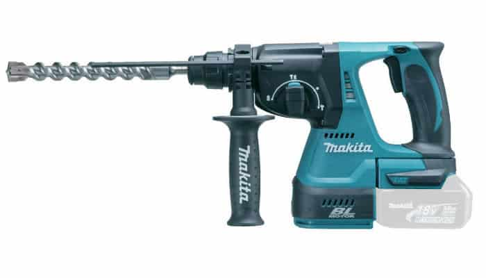 Makita DHR242Z 18v 24 mm Cordless Li-ion SDS Plus Rotary Hammer Drill Review