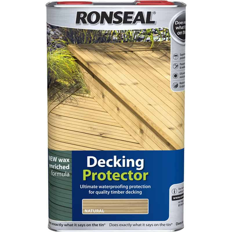 For someone trying to protect a new deck, this product works just fine. On top of enhancing the natural colour of the wood, this paint can be sprayed on the deck, therefore, facilitating easy application. Most importantly, it effectively prevents the growth of mould/algae.