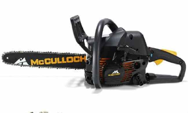 Overall this is an excellent chainsaw that will cut through everything you put in front of it, however we could not help but notice that it seems to have been built with some Husqvarna labeled parts. After further research we soon realised that McCulloch is owned by Husqvarna Group.