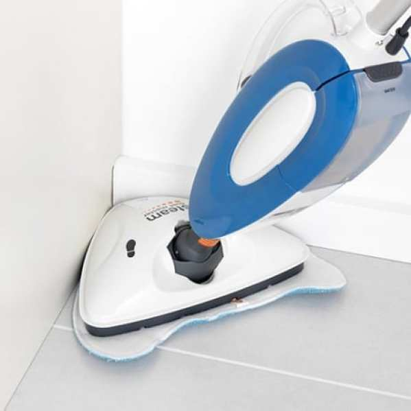 Vax S7 Total Home Master Steam Mop in corner