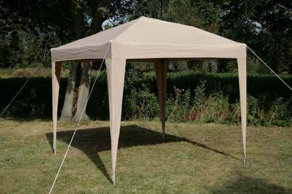 Airwave 2.5x2.5mtr Pop Up Waterproof Gazebo sides open