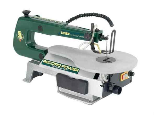 Record Power SS16V Scroll Saw Review