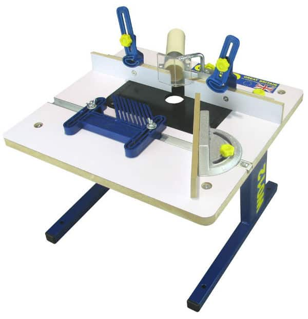 Charnwood W012 Bench Top Router Table Router Review