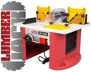 Lumberjack RT1500 1500W Bench Top Router Table with Intergrated Router Review
