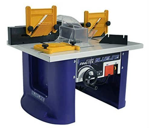 PINGTEK BLUELINE 240V BENCH TOP ROUTER TABLE WITH BUILT IN ROUTER Review