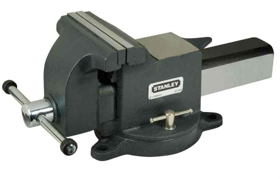 Stanley 183068 MaxSteel Heavy-Duty Bench Vice 6-inch