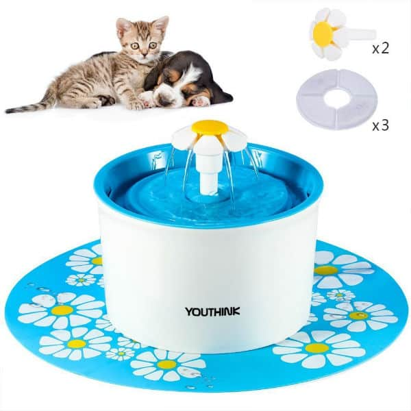 YOUTHINK Silent Pet Fountain Review