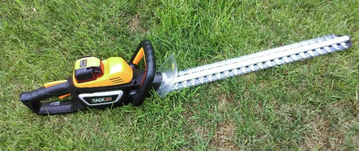 TackLife Cordless Hedge Trimmer