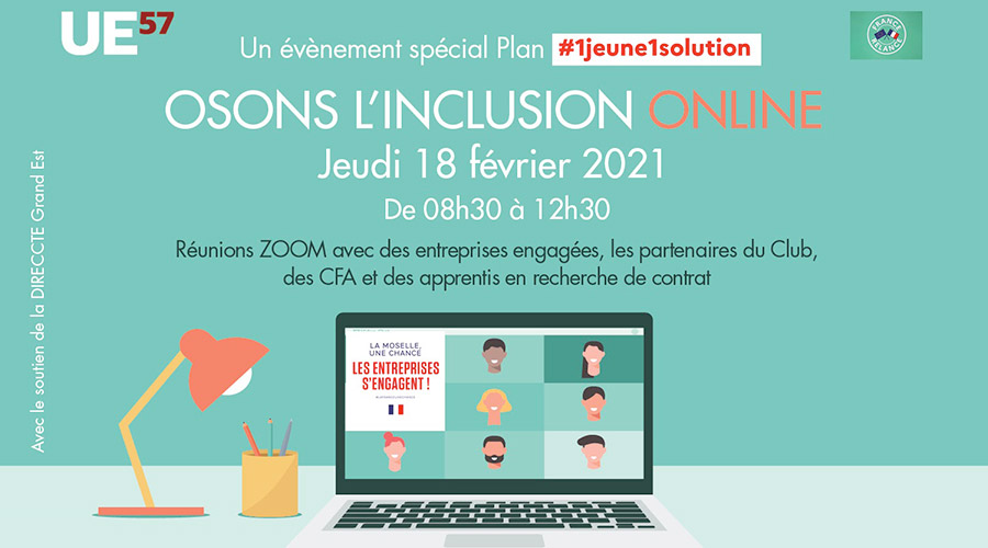 Osons l'inclusion online – spécial jeunes