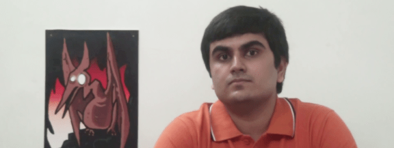 Even in real life, Pyrodactyl haunts Arvind