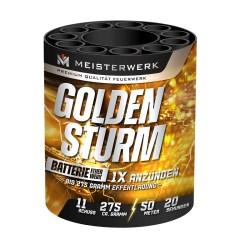 Feuerwerk online kaufen, Geisha Golden Sturm Batteriefeuerwerk