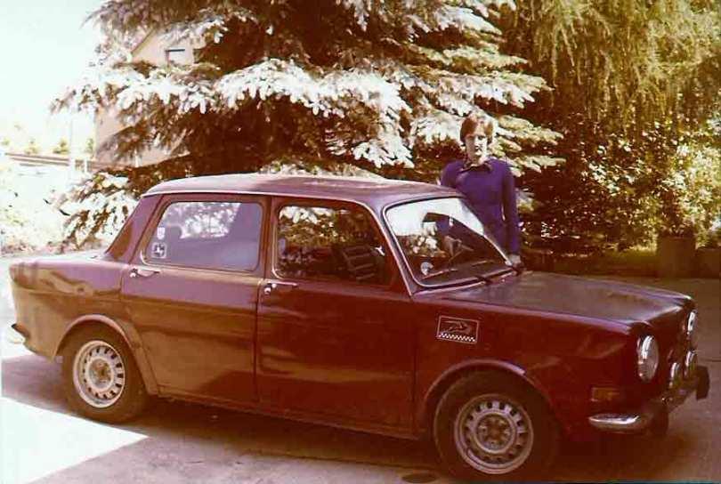 Der Simca. Ähnlichkeiten mit dem Renault sind rein zufällig.