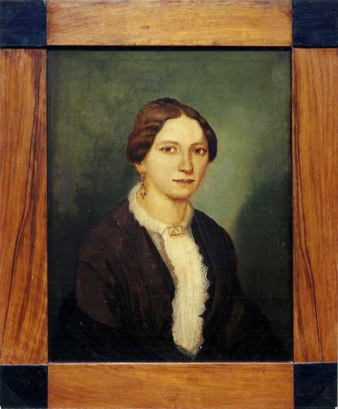 Emilie Mathilde, genannt Marie (1827-1906), Mutter von zehn Kindern